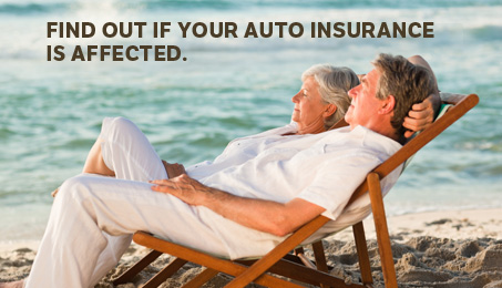 Find out if your auto insurance is affected.