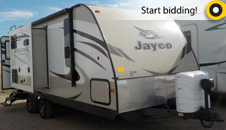 2015 JAYCO TRAVEL TRAILER