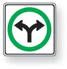 Turn right or left