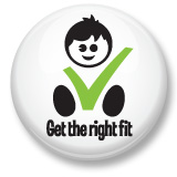 Get the right fit logo