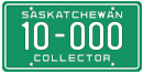 Motorcycle Collector licence plate