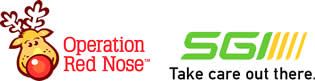 Operation Red Nose and SGI logos