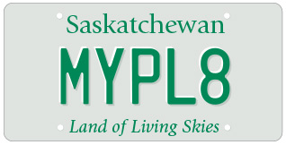 Specialty licence plates